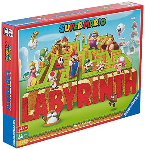 Ravensburger Familienspiel 26063 - Das verrückte Labyrinth mit den Figuren aus Super Mario(tm) -...