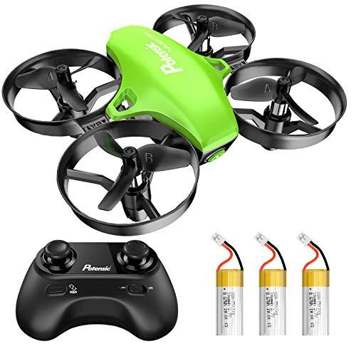 Potensic Mini Drohne für Kinder und Anfänger mit 3 Akkus, RC Quadrocopter, Mini Drone mit...