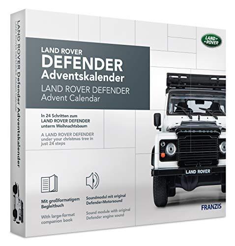 FRANZIS Land Rover Defender Adventskalender | in 24 Schritten zum Land Rover Defender unterm...