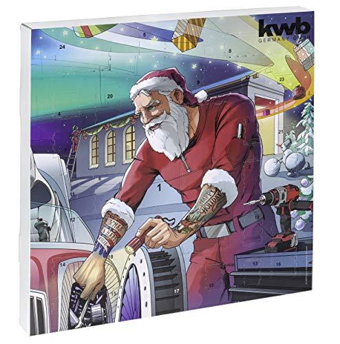 kwb Adventskalender mit Qualitäts-Werkzeugen gefüllt, inkl. Tasche