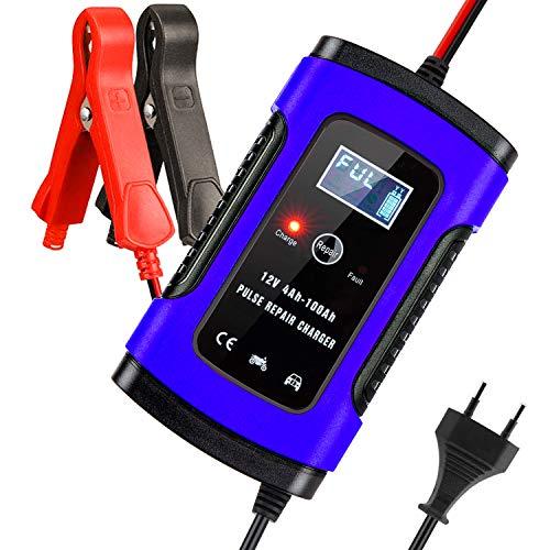 Aibeau Batterie Ladegerät Auto, Autobatterie Ladegerät 6A 12V Batterieladegerät Auto...
