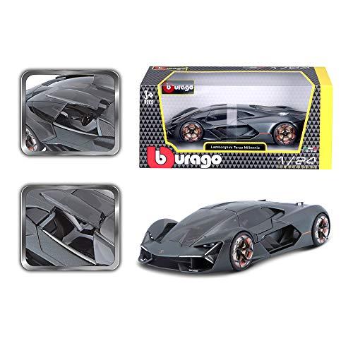 Bauer Spielwaren B18-21094 Bburago Lamborghini Terzo Millennio: Modellauto im Maßstab 1:24, Türen zum...