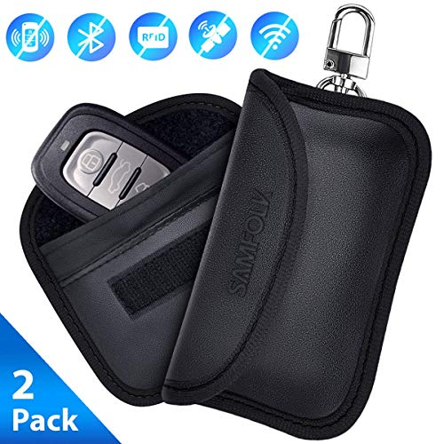 Mini Rfid Keyless Go Schutz Autoschlüssel 2 Stk
