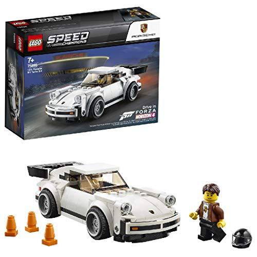 LEGO 75895 Speed Champions 3.0 Auto Porsche 911 Turbo, Forza Horizon 4 Stück