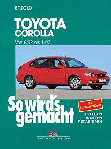 Toyota Corolla 8/92 bis 1/02: So wird's gemacht