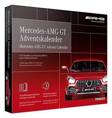 FRANZIS 67103 - Mercedes-AMG GT Adventskalender 2020 – in 24 Schritten zum Mercedes-AMG GT unterm...