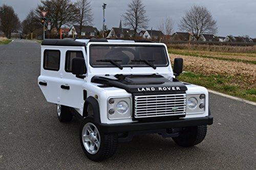 SL Lifestyle Kinderauto Elektroauto Land Rover Original-Lizenz 2,4 GHz Fernbedienung 2 Motoren Kinderauto...
