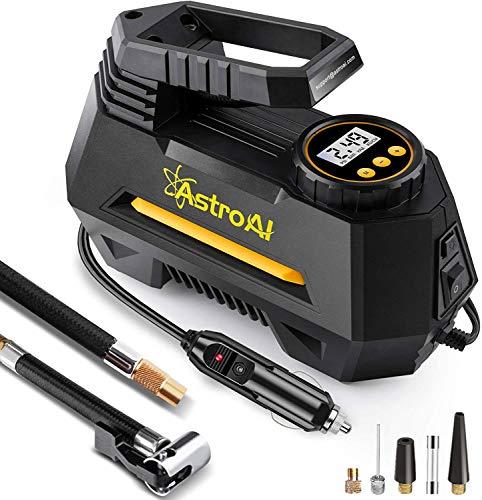 AstroAI Luftkompressor,Auto Luftpumpe Elektrisch Digital Portable air Compressor mit LCD Bildschirm 12V...