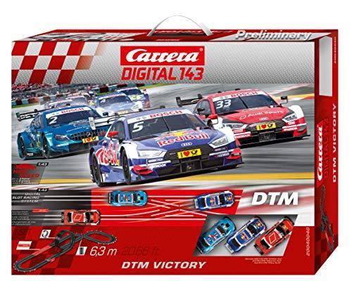 Carrera DIGITAL 143 - DTM Victory Autorennbahn Set