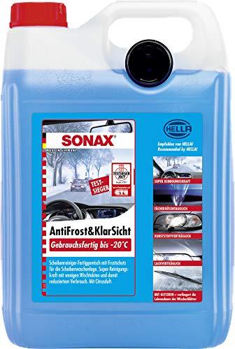 SONAX AntiFrost & KlarSicht Gebrauchsfertig bis -20° C (5 Liter)