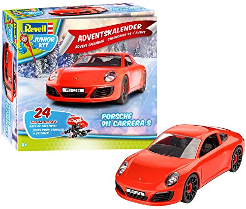 Revell Junior Kit 01018 - Adventskalender Porsche 911 Carrera S