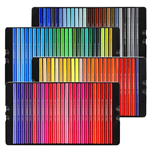 Pinselstifte Set,100 Farben Dual Tip Marker Stifte Set Aquarellstifte filzstifte Bunte Aquarell Pinsel...