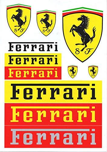 Ferrari-Aufkleber