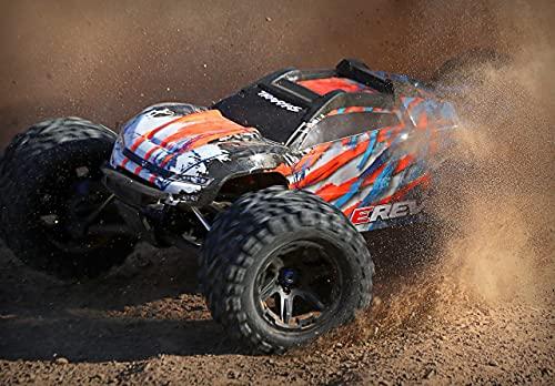 Traxxas E-Revo BL 2.0 4x4 VXL Orange Brushless 1:10 RC Modellauto Elektro Monstertruck Allradantrieb...
