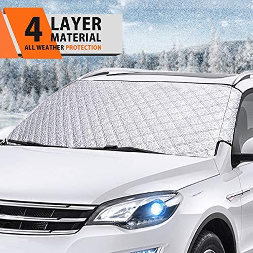 Autoscheibenabdeckung Auto Sonnenschutz Frontscheibe MATCC Frontscheibenabdeckung Sonnenschutz...