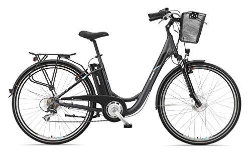 Telefunken E-Bike Elektrofahrrad Alu 28 Zoll mit 7-Gang Shimano Kettenschaltung, Pedelec Citybike leicht...