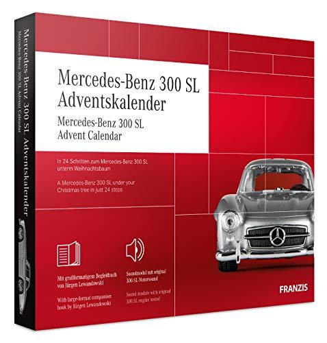 FRANZIS Mercedes-Benz 300 SL Adventskalender | In 24 Schritten zum Mercedes-Benz 300 SL unterm...