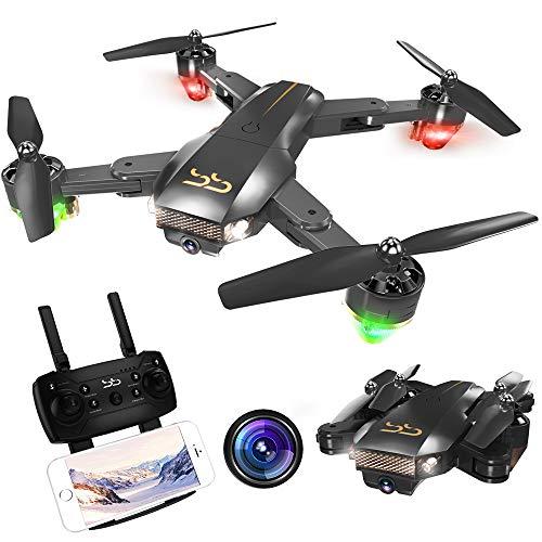 ScharkSpark Drohne Thunder mit Kamera Live Video, RC-Quadcopter, einfache für Anfänger zu steuern,...
