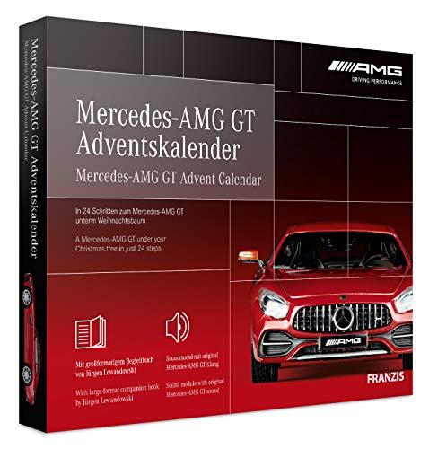 FRANZIS Mercedes-AMG GT Adventskalender | in 24 Schritten zum Mercedes-AMG GT unterm Weihnachtsbaum | Ab...