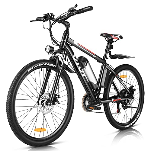 Vivi Ebike Elektrofahrrad Mountainbike, 26 Zoll E Bike Elektrofahrrad Damen Herren 350W Elektrofahrräder...