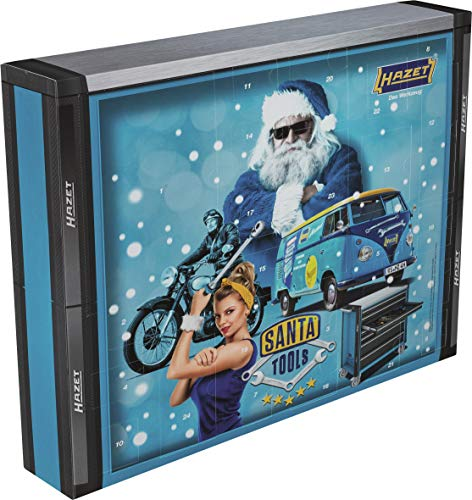 Hazet Werkzeug-Adventskalender Santa Tools