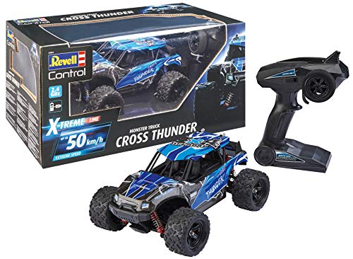 Revell Control 24831 X-Treme schneller RC Truggy Cross Thunder, 2.4 GHz, proportional, 4WD Allrad,...