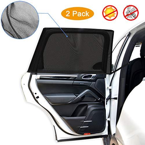 Sonnenschutz für Auto Baby/Kinder, Autofenster Sonnenblende mit UV Schutz Seitenfenster Blendschutz...