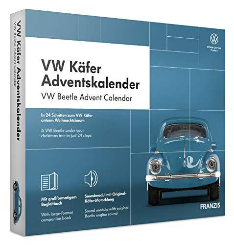 FRANZIS VW Käfer Adventskalender 2020 | In 24 Schritten zum VW Käfer unterm Weihnachtsbaum | Ab 14...