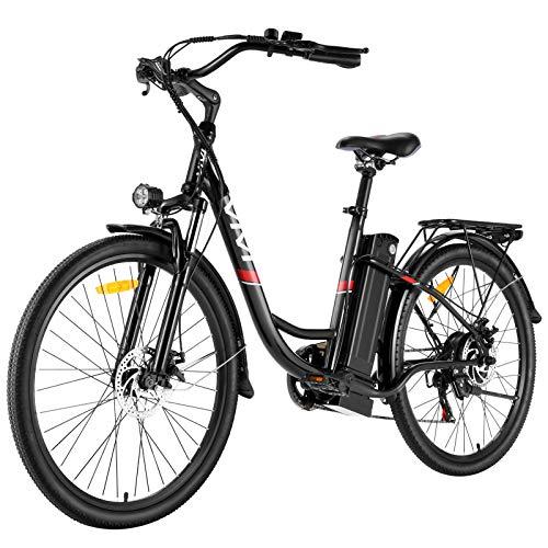 EBike City Efahrrad 350W Elektrofahrrad E Bike Herren 26/20 Zoll Elektrokreuzer/Elektrofahrrad mit...