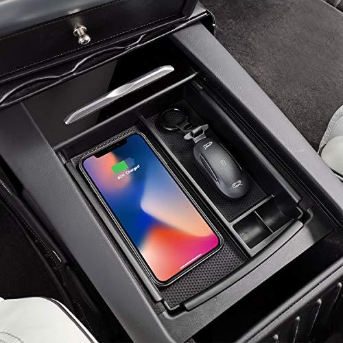 Tesla Owner Mittelkonsole Armlehne Aufbewahrungsbox