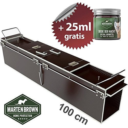 Martenbrown® Marderfalle 100cm