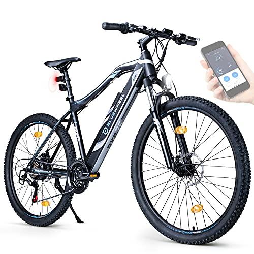"BLUEWHEEL E-Bike 27,5"" & 29"" I Deutsche Qualitätsmarke   EU-konform E-Mountainbike 21 Gänge &..."