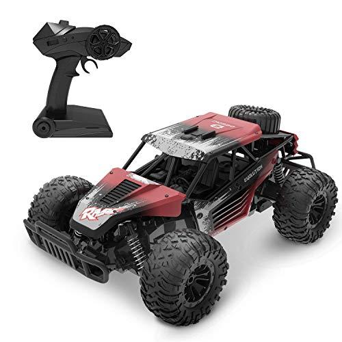 DEERC RC Ferngesteuertes Auto DE37 für Kinder,1:16 Spielzeug Car mit 2,4 Ghz Fernbedienung,Lange...