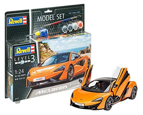 Revell Modellbausatz - McLaren 570S im Maßstab 1:24