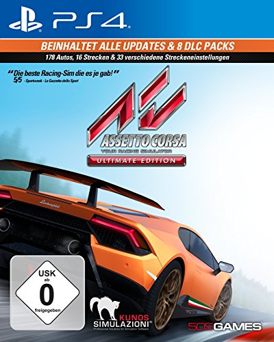 Assetto Corsa Ultimate Edition - [PlayStation 4]