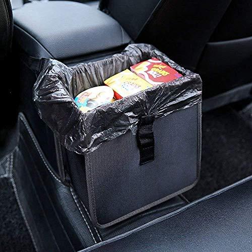 PowerTiger Auto Mülleimer, KFZ Abfalleimer Wasserdicht Abfallbehälter Auslaufsicher Autositztasche für...