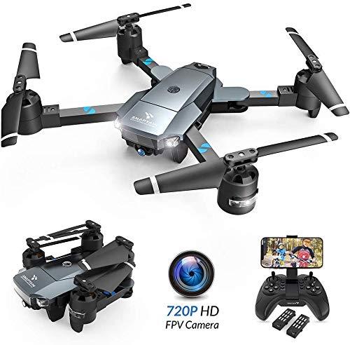 SNAPTAIN A15H Drohne mit Kamera HD 720P Faltbare Drohne FPV WLAN 120°Weitwinkel RC...