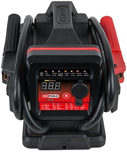 KS Tools Docking 550.1760 12 V Batterie-Booster – mobiles Starthilfegerät 700 A mit induktiver...