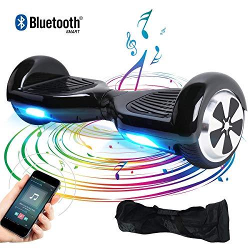 BEBK Elektro Scooter, 6.5' Hoverboard, Self Balance Scooter mit Bluetooth Lautsprecher, 2 * 250W Motor,...
