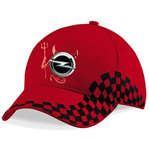 Opel - Devil bestickte Baseball Cap