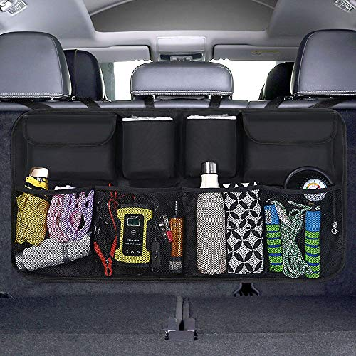 URAQT Kofferraum Organizer Auto, Auto Aufbewahrungstasche, Kofferraumtasche Auto, Wasserdichten Taschen...