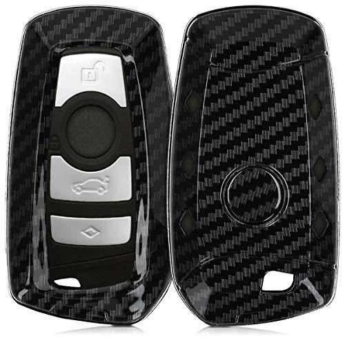 kwmobile Autoschlüssel Hülle für BMW - Hardcover Schutzhülle Schlüsselhülle für BMW 3-Tasten Funk...