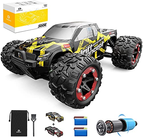Ferngesteuertes Auto, DEERC RC-Cars 1:18 RC Rennauto 4WD Brushless-Motor, 60 km/h Offroad Truggy Schnell...