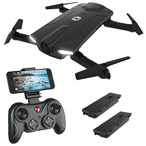 Holy Stone HS160 FPV Mini Drohne faltbar mit HD Kamera live ubertragung lange Flugzeit rc pocket Drohne...