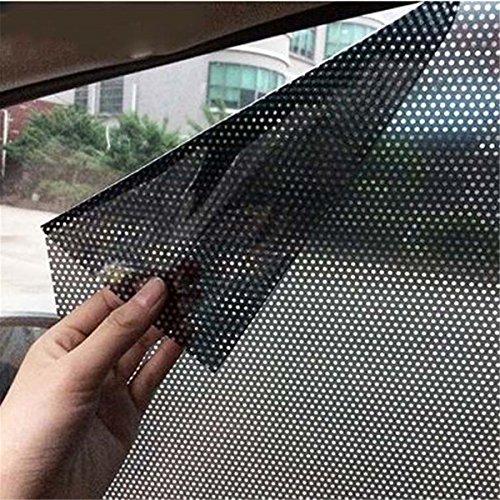 ECYC Auto-Fenster-Schatten-Aufkleber für Seiten- und Heckscheibe, 2pcs / Lot 42x38cm...