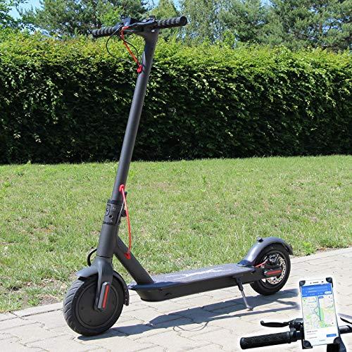 Smartway Elektro Scooter 500 Watt E-Scooter mit APP & Bluetooth Elektroroller Faltbar Roller Aluminium...