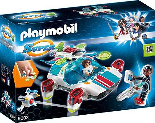 Playmobil 9002 – FulguriX mit Agent Gene