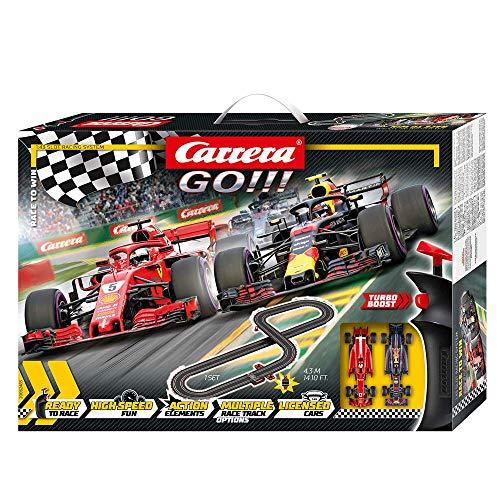 Carrera GO!!! Race to Win Autorennbahn Set