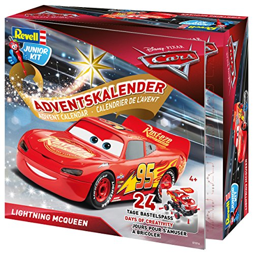 Revell Junior Kit 01016 - Adventskalender Lightning McQueen