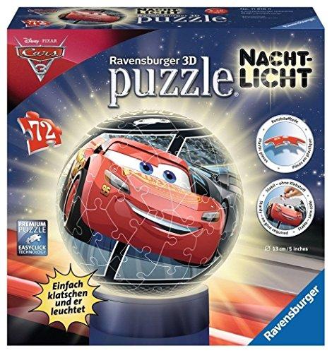 Ravensburger 3D-Puzzle 11816 Disney Nachtlicht: Cars 3